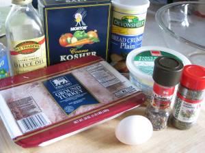 Meatball Ingredients