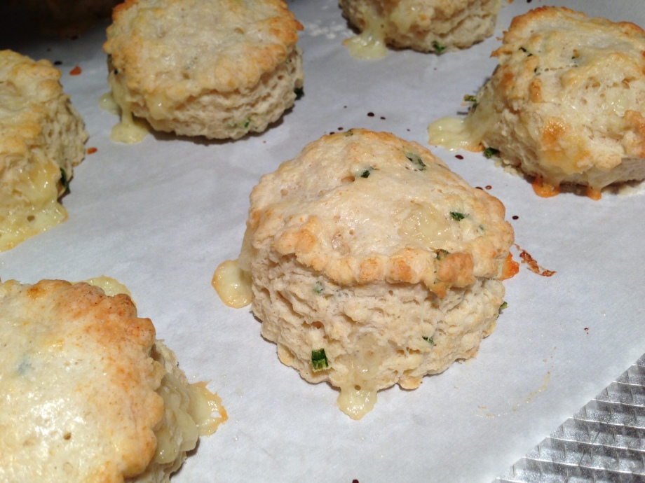 biscuits baked