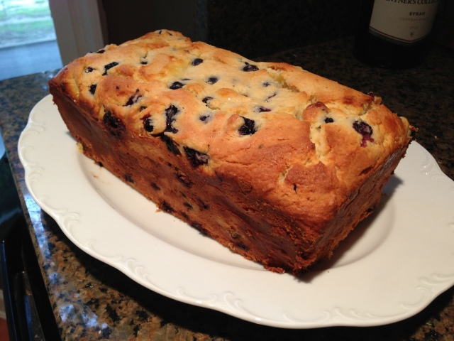 blueberry loaf