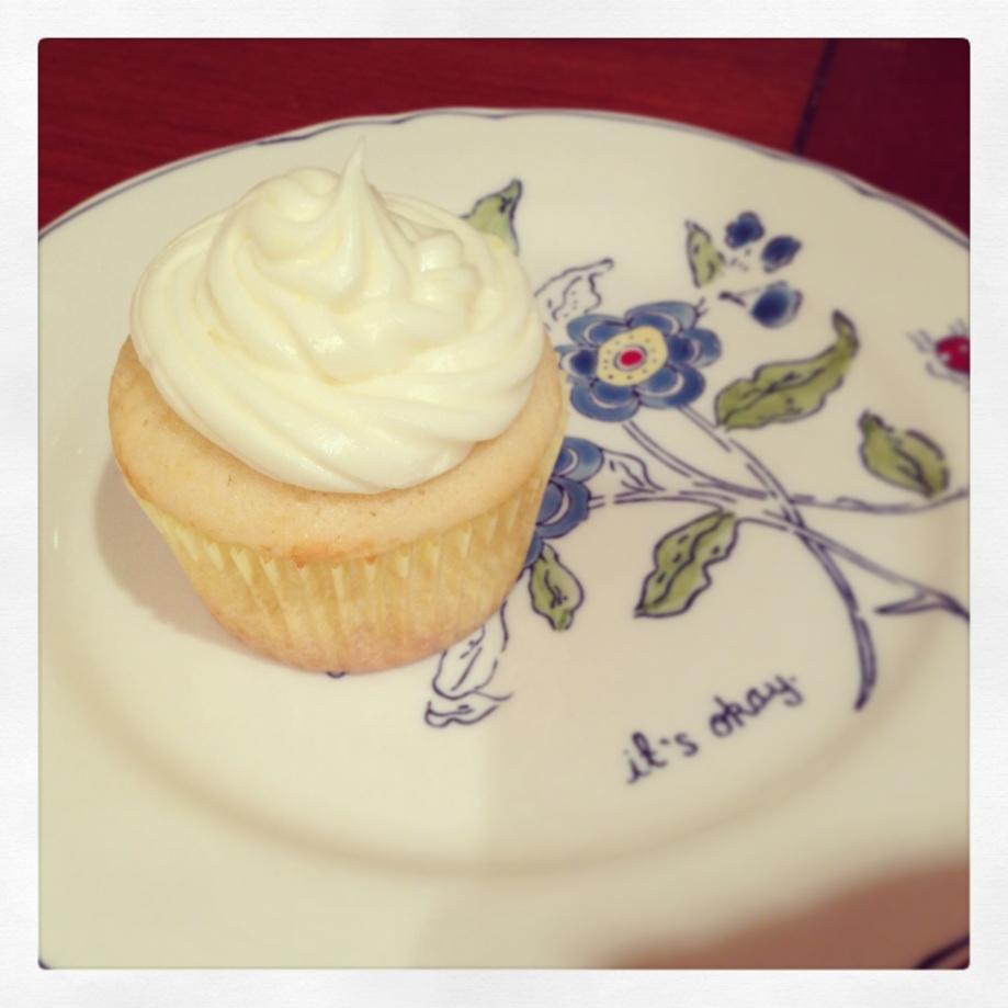 summer shandy cupcake