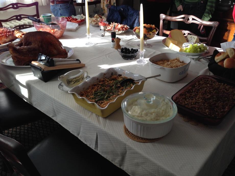 Turkey Day spread