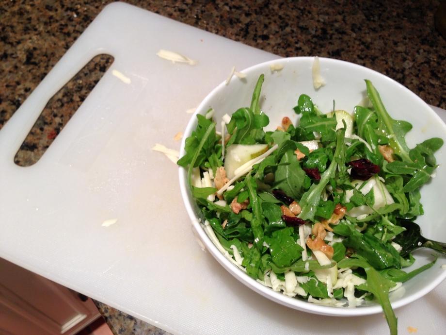 salad con queso