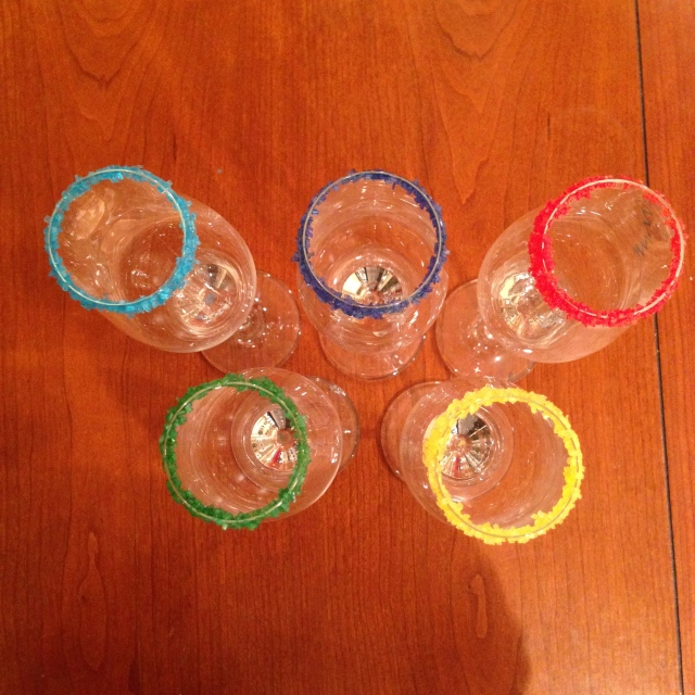 olympic ring cocktails