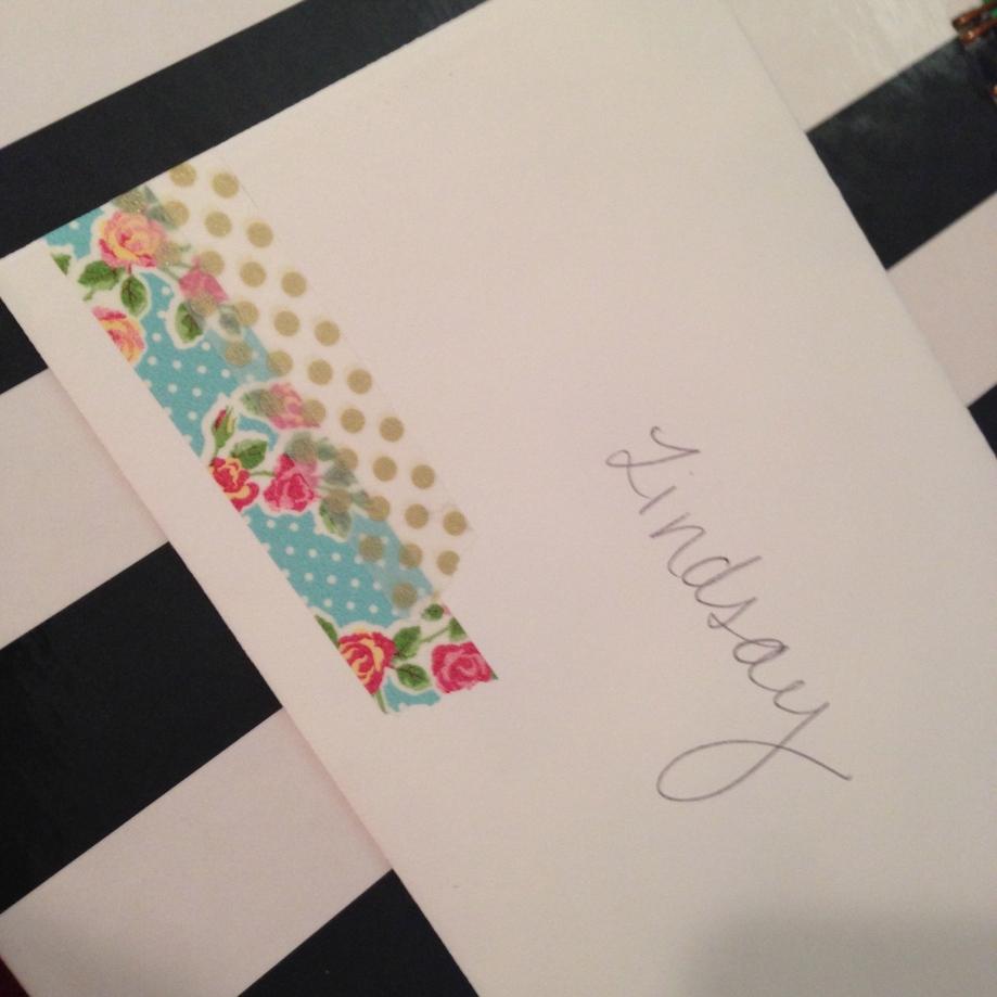 letter to lindsay