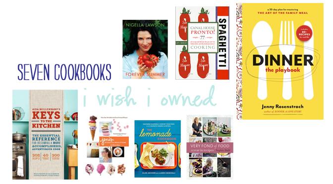 5 Cookbooks