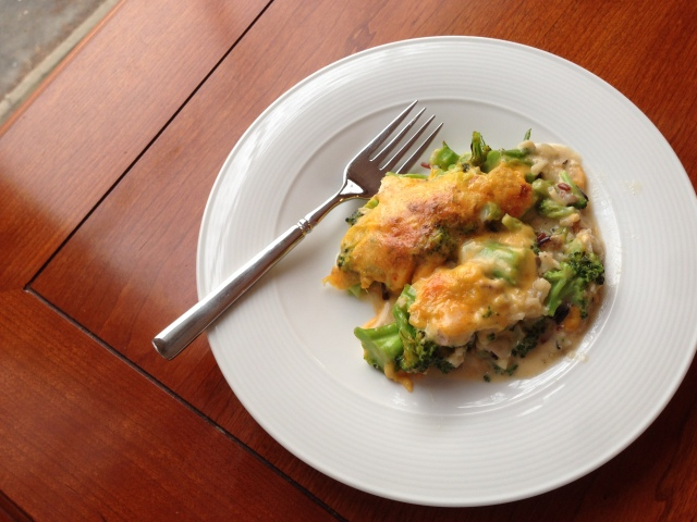 broccoli rice casserole 2