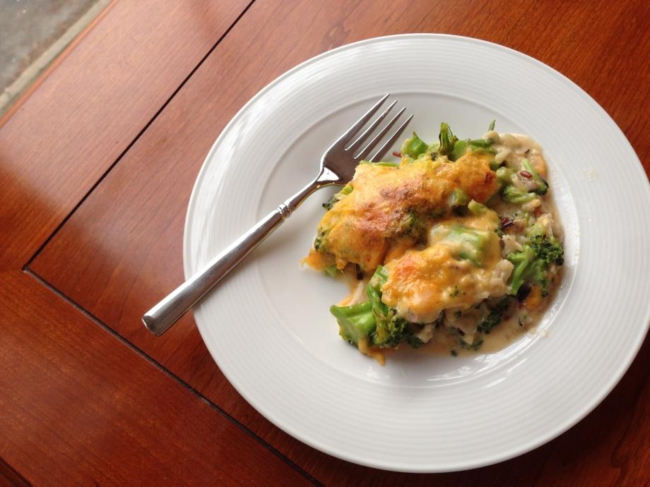 broccoli rice casserole 2