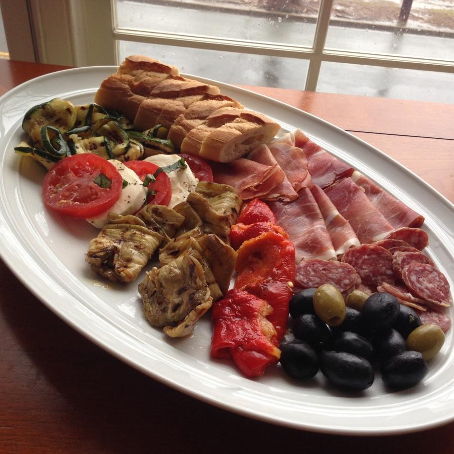 antipasta lunch