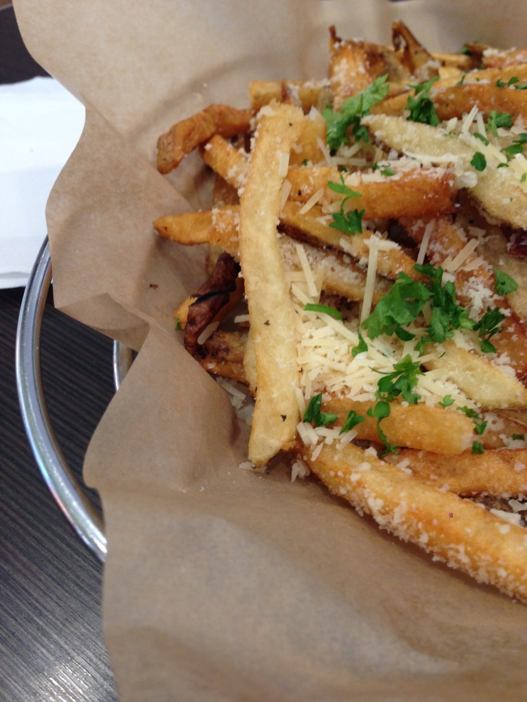 parmesan fries.