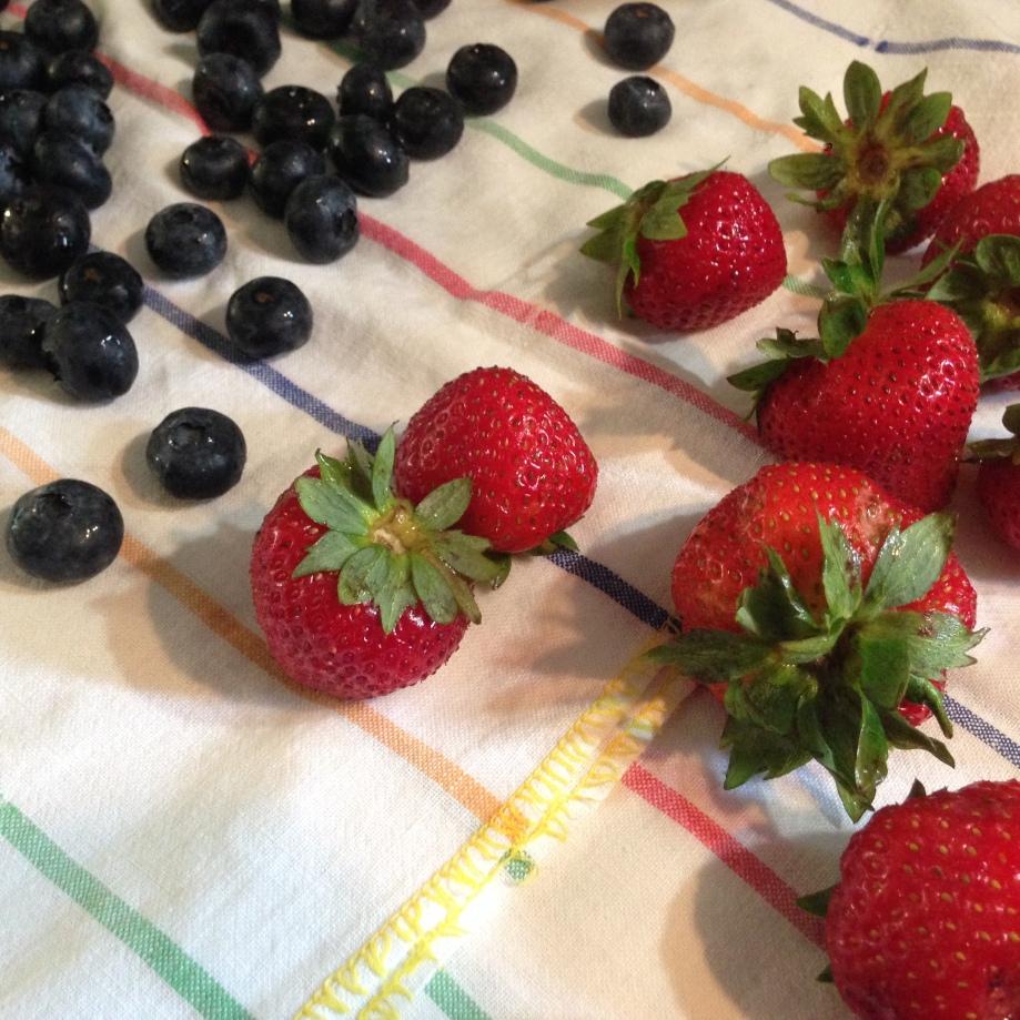 summer berries.