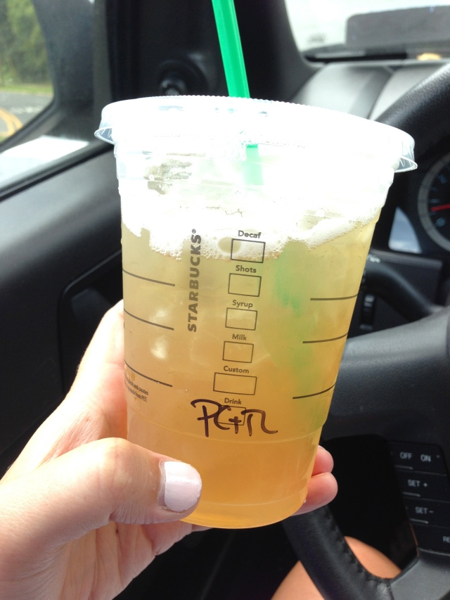 peach green tea lemonade.