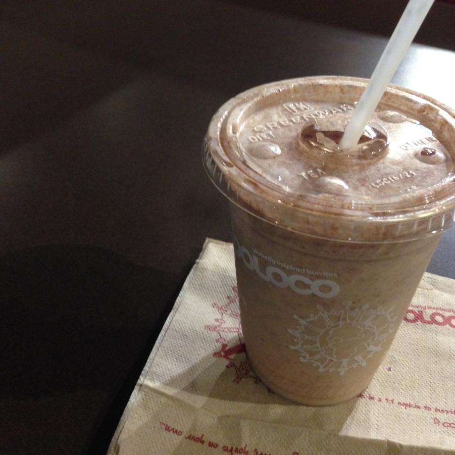 nutella milkshake.