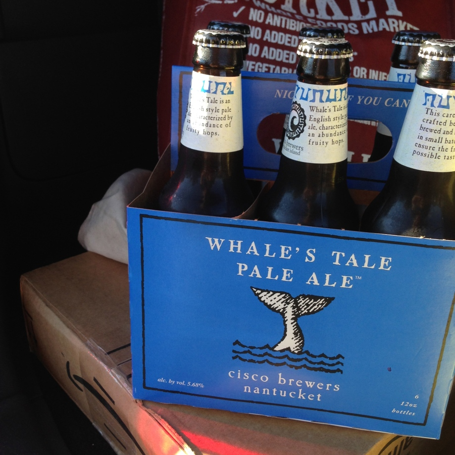 whale's tale pale ale.