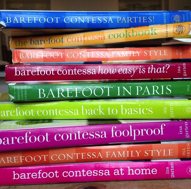 barefoot contessa cookbooks.