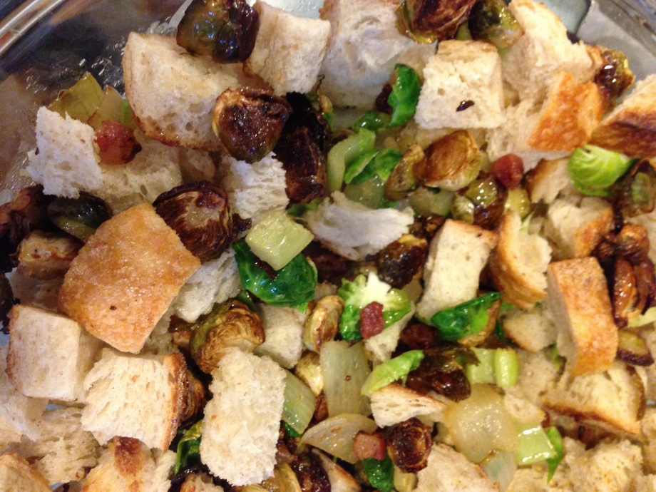 brussels sprouts stuffing.