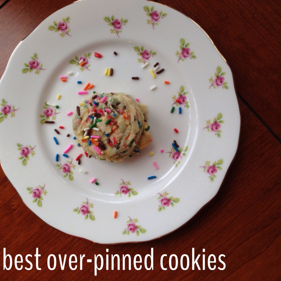 funfetti cookies.