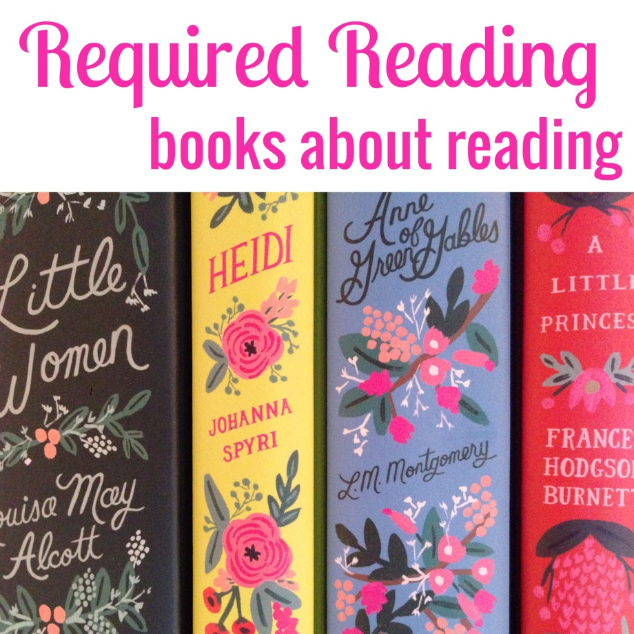 required reading, books about reading