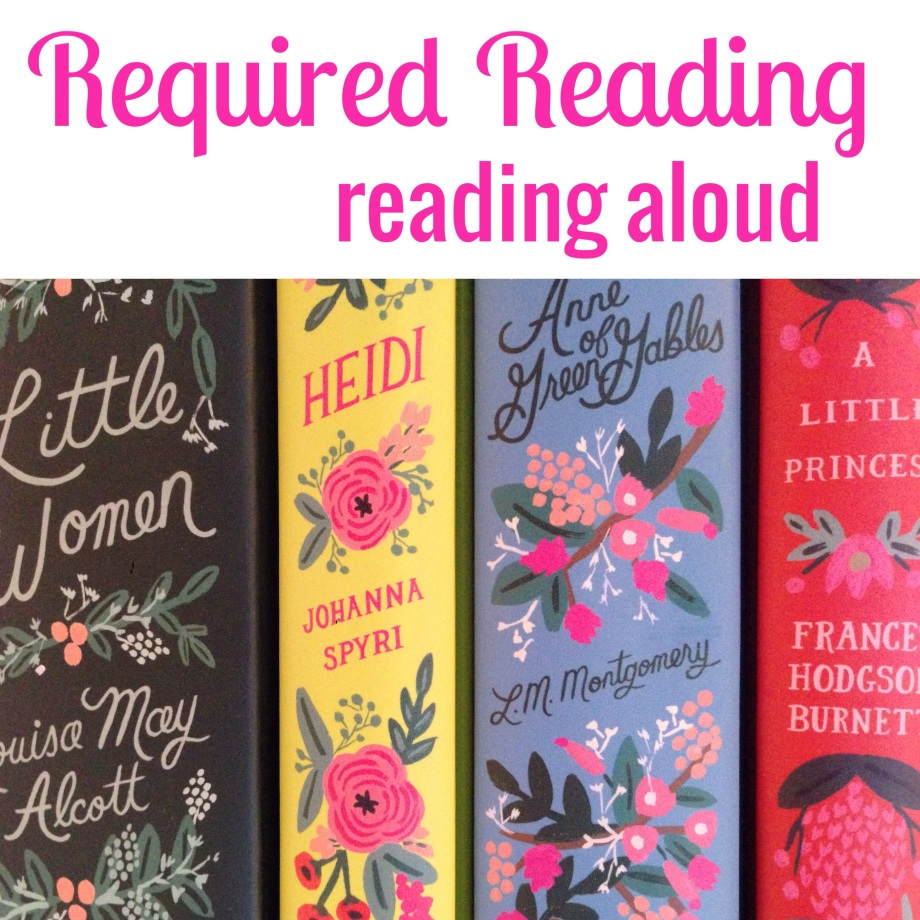 required reading, on reading aloud.