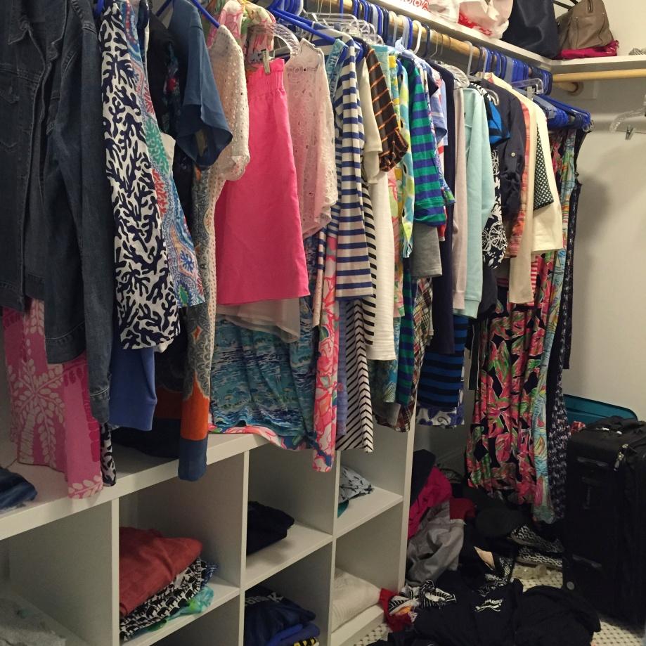 closet explosion.