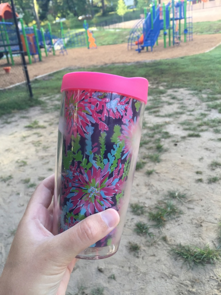 lilly cup.