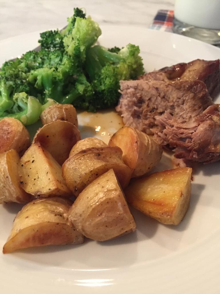 crockpot balsamic pork.