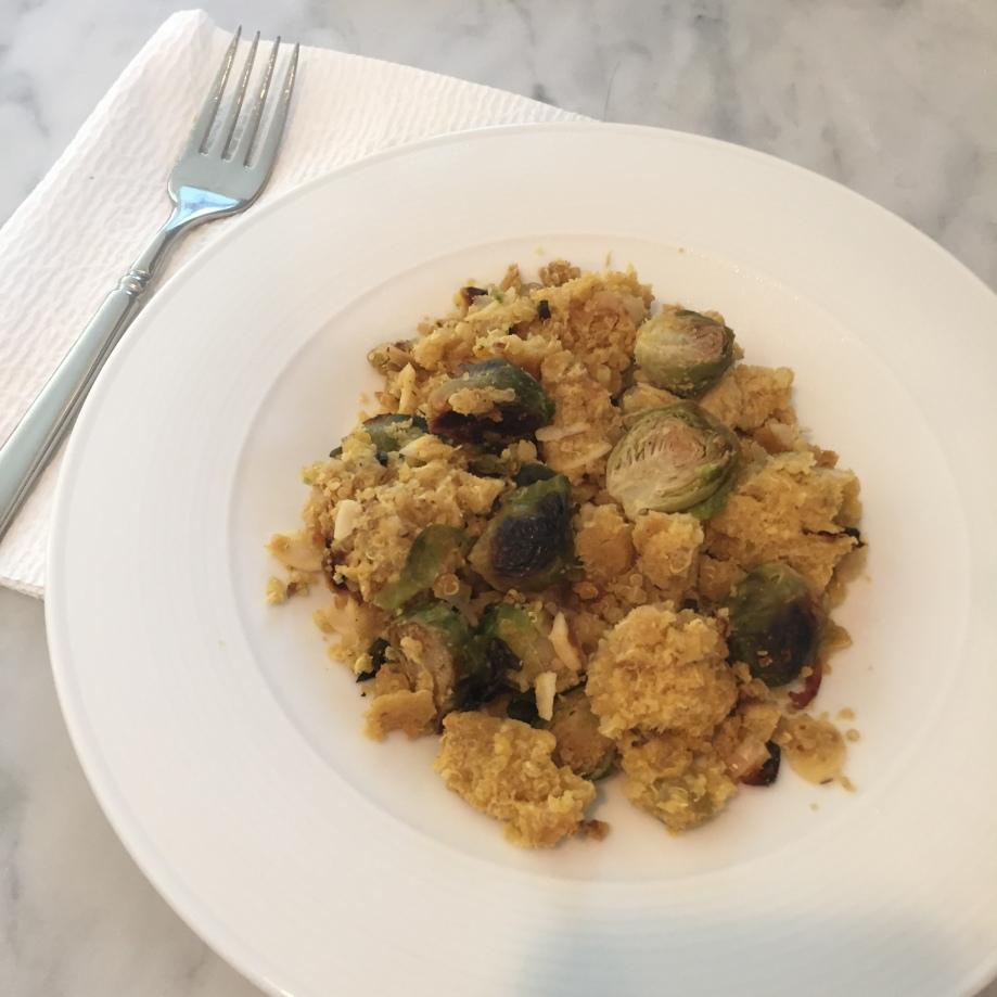 quinoa lentil salad.